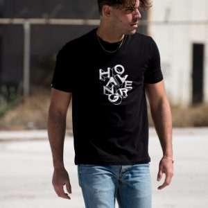 3D T-shirt – L, Black