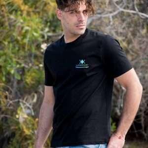 COLORFUL SURF T-SHIRT – M, Black